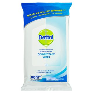 Dettol Antibacterial Surface Wipes Fresh 90 Pack