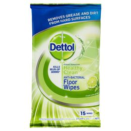 Dettol Antibacterial Floor Cleaning System + Large Floor Wipes