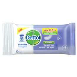 Dettol Anti-bacterial Wet Wipes Sensitive