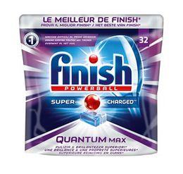Finish Les tablettes de lave-vaisselle Finish Quantum Max