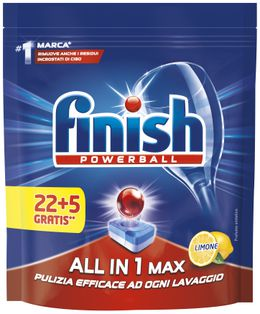 Finish All in 1 MAX Limone