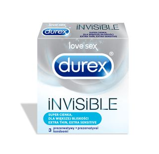 DUREX Invisible Extra Sensitive kondoomid