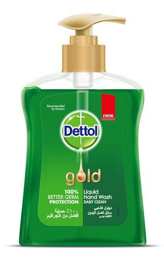 Dettol Gold Anti-Bacterial Liquid Handwash Daily Clean 200ml