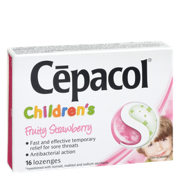 Cepacol Children - Fruity Strawberry