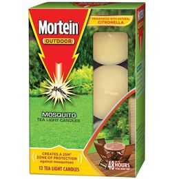 MORTEIN TEA LIGHT CANDLES