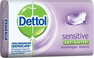 Sabun Anti Bakteri Dettol Sensitive (65g)