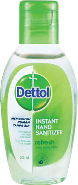 Dettol Instant Hand Sanitizer (Refresh 50ml)