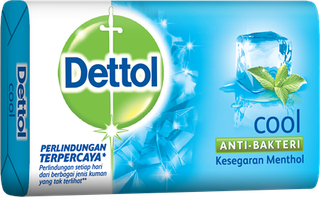 Sabun Anti Bakteri Dettol Cool (105g)