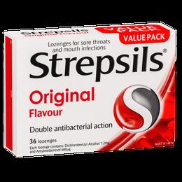 Strepsils Original Lozenges 36s