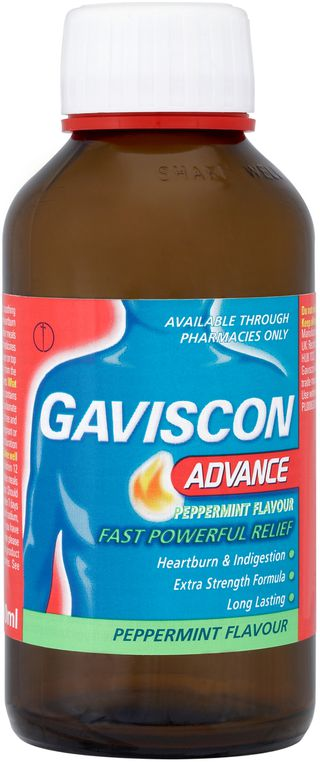 Gaviscon Advance Liquids Peppermint