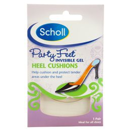 Scholl Party Feet™ Invisible Gel Heel Cushions