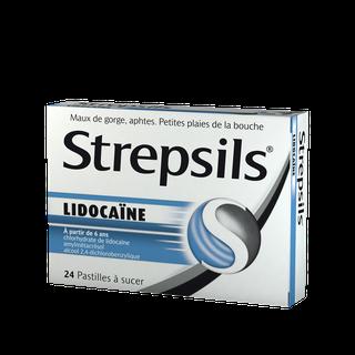 Strepsils Lidocaïne