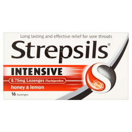 STREPSILS INTENSIVE HONEY & LEMON 8.75mg LOZENGES