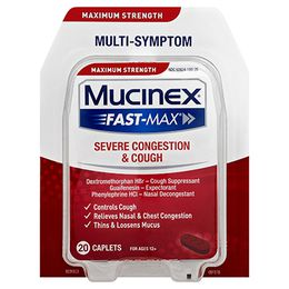 Maximum Strength Mucinex® Fast-Max® Severe Congestion and Cough, Caplets