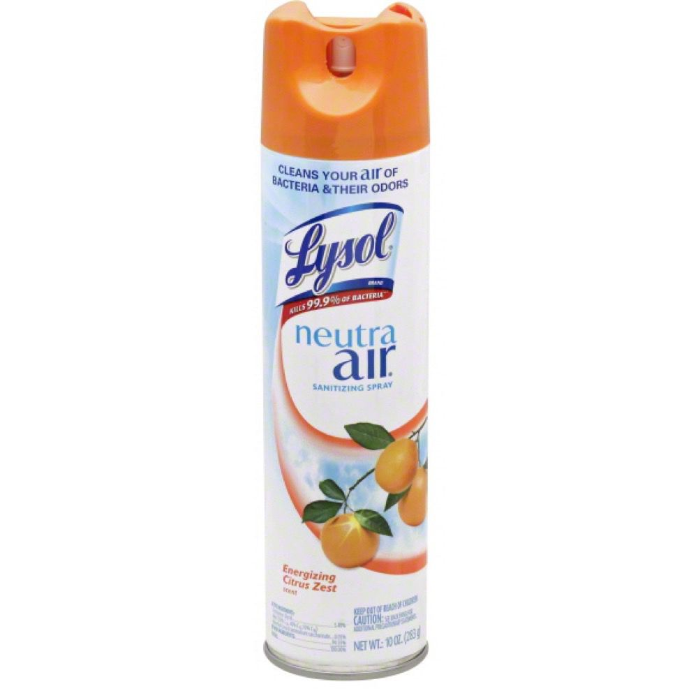 lysol neutra air sanitizing spray odor neutralizer lysol