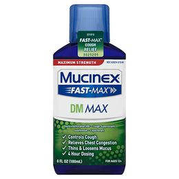 Maximum Strength Mucinex® Fast-Max® DM Max, Liquid