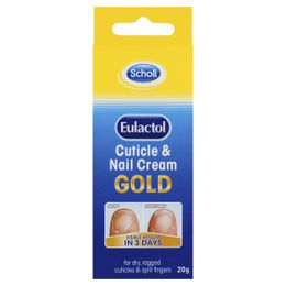 Scholl Eulactol Gold Cuticle/Nail Cream