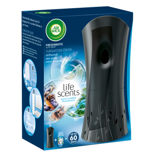Air Wick Freshmatic Max Starter Kit Life Scents Turquoise Oasis