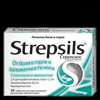 Strepsils Menthol and Eucalyptus Lozenges
