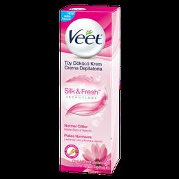 Veet Crema Depilatoria Corporal Silk&Fresh Pieles Normales
