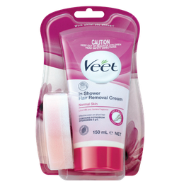 Veet® In Shower Hair Removal Cream For Normal Skin