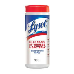 Lysol® Wipes for Antibiotic Resistant Bacteria