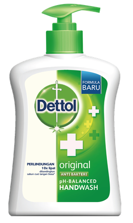 Sabun Cuci Tangan Anti Bakteri Dettol Original