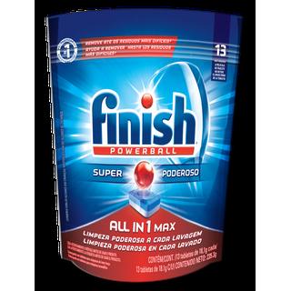 Tabletas para lavavajillas Finish Power Tabs