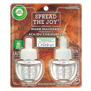SPREAD THE JOY™ WARM MAHOGANY SCENTED OIL