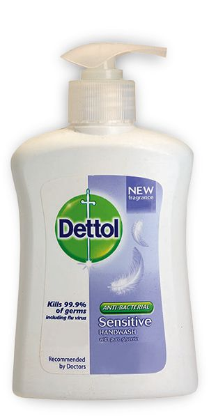 Dettol Antibacterial Sensitive Liquid Hand wash 200ml