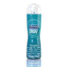 """DUREX Play Tingle с эффектом """"морозного покалывания"""" Интимная гель-смазка 50мл"""