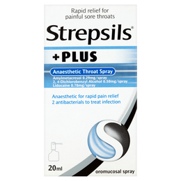 STREPSILS PLUS ANAESTHETIC THROAT SPRAY