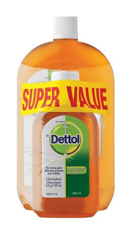 Dettol antiseptic liquid 750ML and 250ML