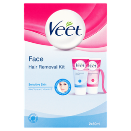 Veet Face Hair Removal Kit – Sensitive Skin
