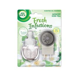 Elektrický osvěžovač vzduchu - strojek & náplň - Jazmínového l'adového čaju
