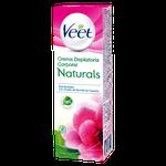 Crema Depilatoria Corporal Veet Naturals® Piel Sensible
