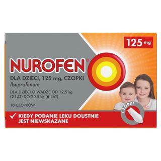 Nurofen dla dzieci (Ibuprofen 125 mg)