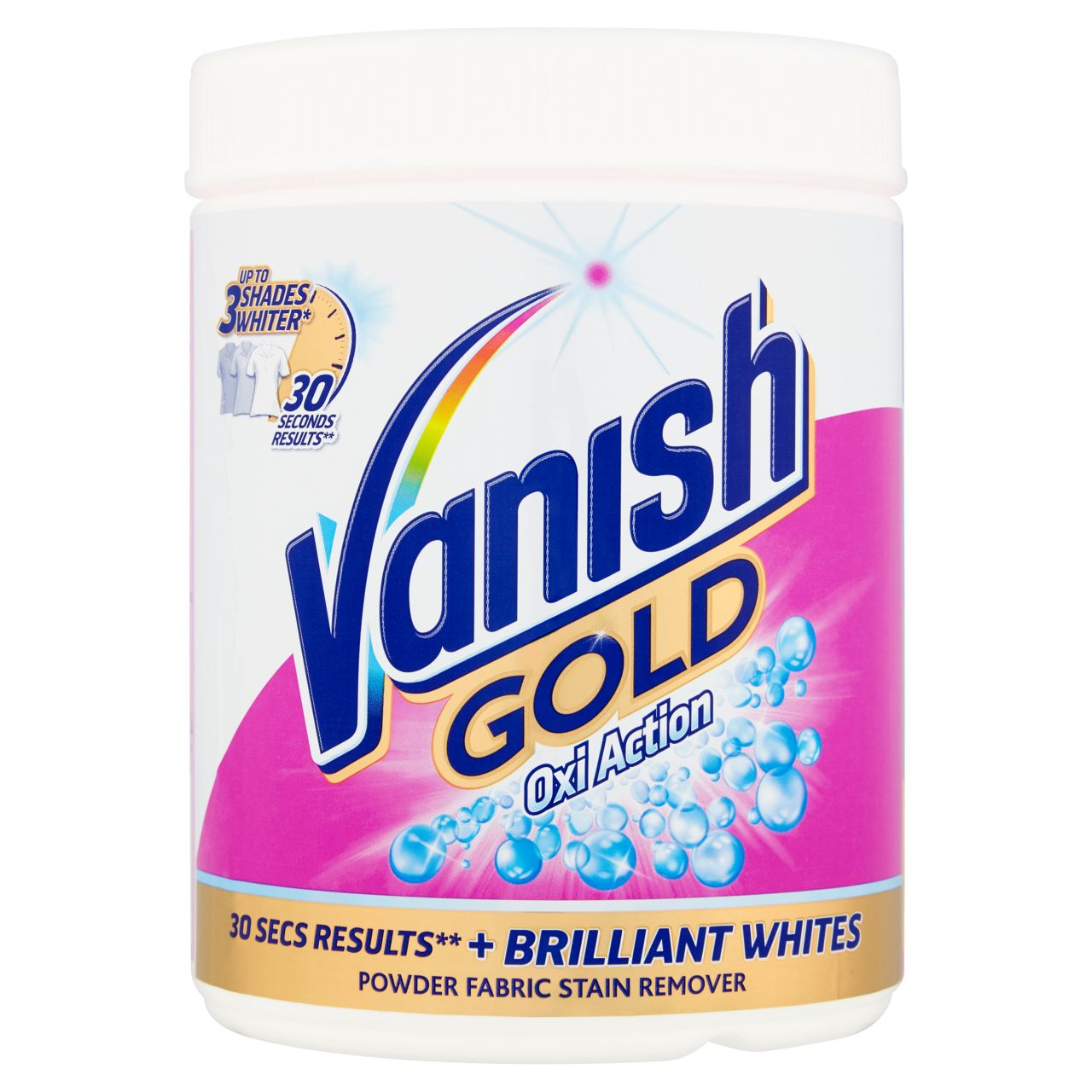 Vaish Gold For Whites Powder Vanish Uk
