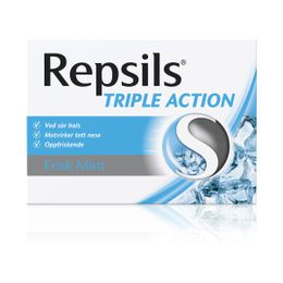 Repsils Triple Action Frisk Mint 24