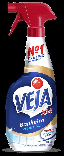 VEJA GOLD BANHEIRO X14 TIRA LIMO