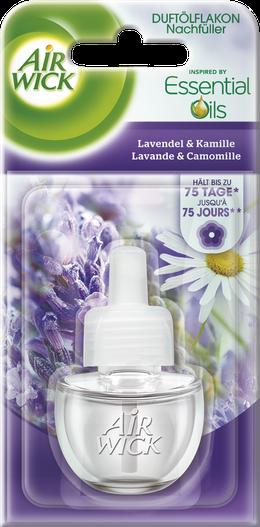 Air Wick Flacon d'Huile Parfumée Lavande & Camomille