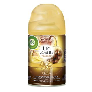 Life Scents® Snowflake Vanilla Cookie Freshmatic® Ultra Automatic Spray