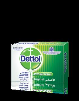 Dettol Anti-Bacterial Bar Soap Original 90gm