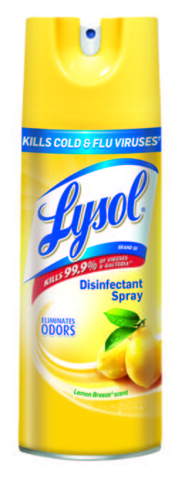 Lysol® Disinfectant Spray - Lemon Breeze®