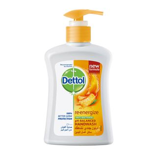 Dettol Liquid Hand Wash Soap Re-Energize 200ml