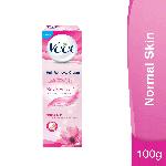 Veet Silk & Fresh Hair Removal Cream for Normal Skin, 100g