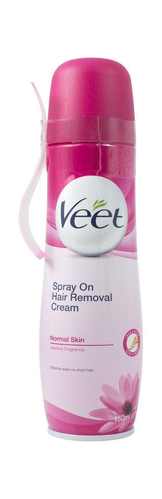 Spray On Hair Removal Cream Legs & Body Normal Skin