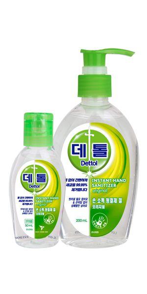 데톨 손 소독 청결제 겔 오리지널(에탄올)--의약외품