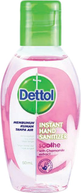 Dettol Instant Hand Sanitizer (Soothe 50ml)