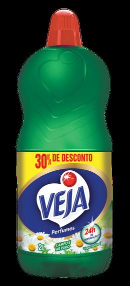 VEJA PERFUMES CAMPO E AR PURO 2L 30% DE DESCONTO